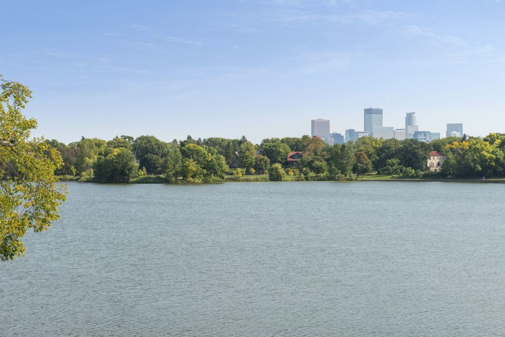 "The Minneapolis ""Lake"" real estate region includes homes on Lake Cedar, Lake Calhoun, Lake of the Isles, and Lake Harriett."