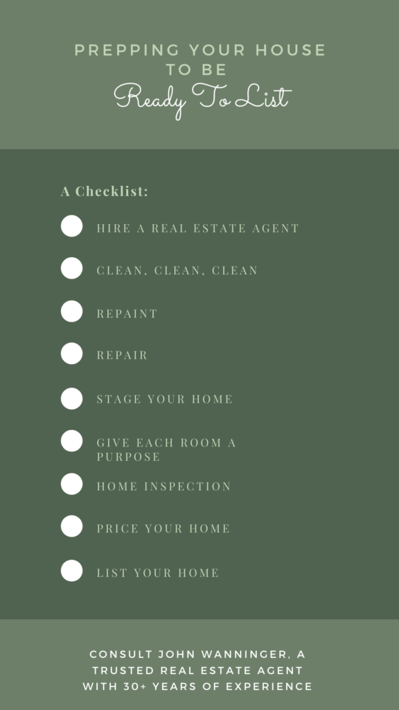 Checklist for prepping your home to be ready to list