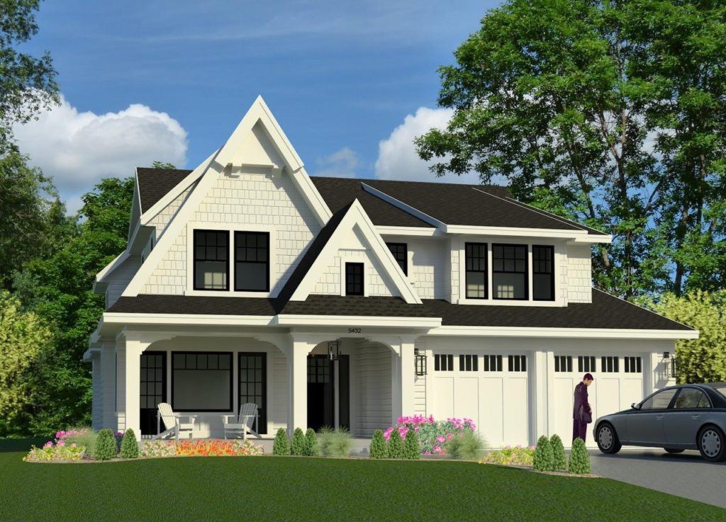 New construction home for sale in Edina