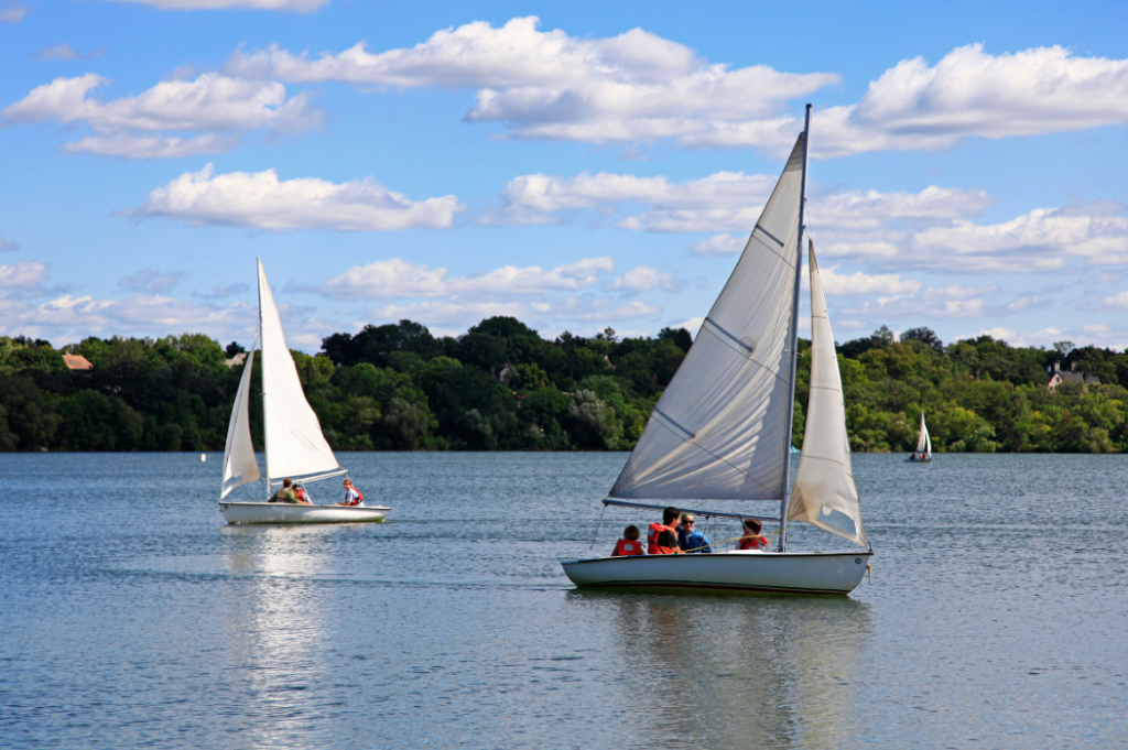 Residents can enjoy sailing in Minneapolis