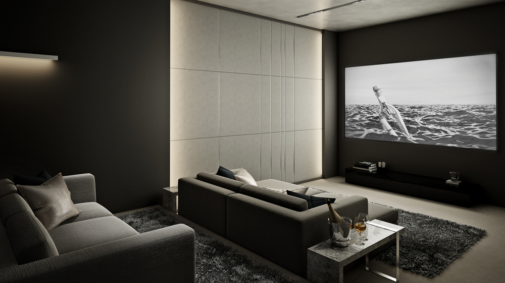 Home theaters are a top design trend