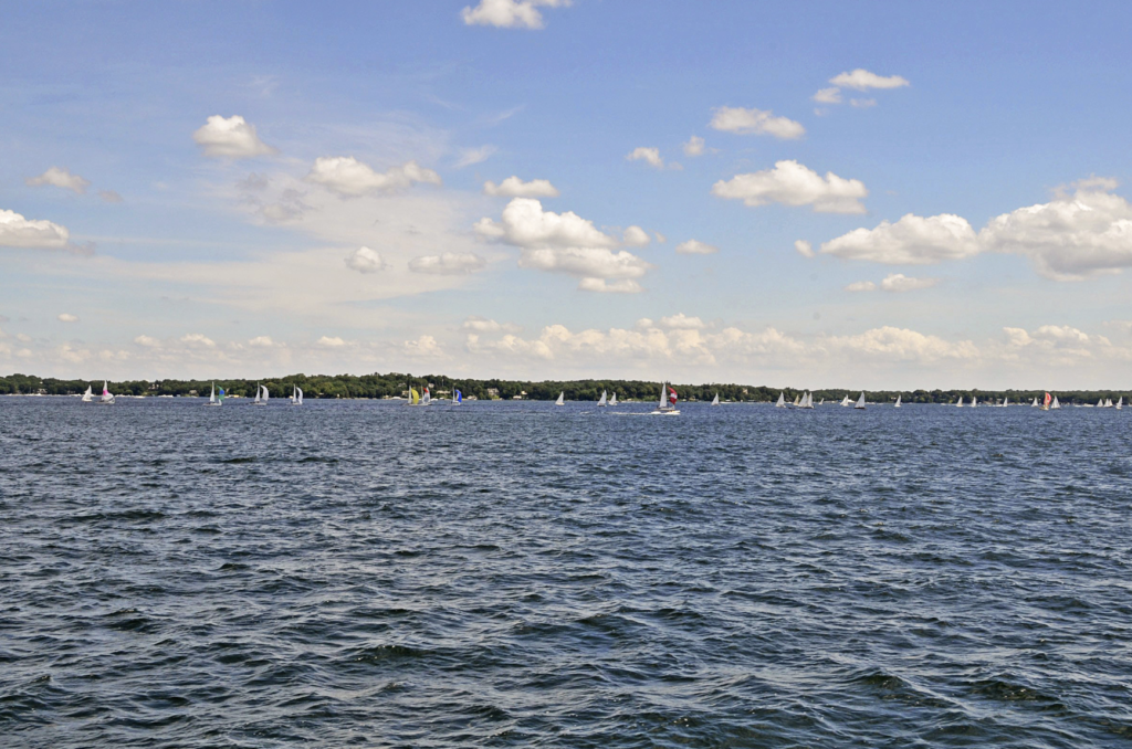 Lake Minnetonka in the Summer