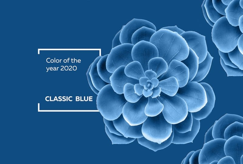 Pantone's 2020 Color of the Year is Pantone Blue