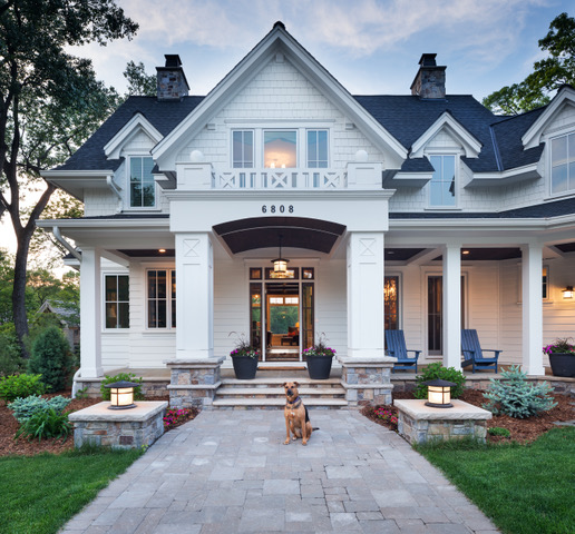 Great Neighborhood Homes exterior of custom home
