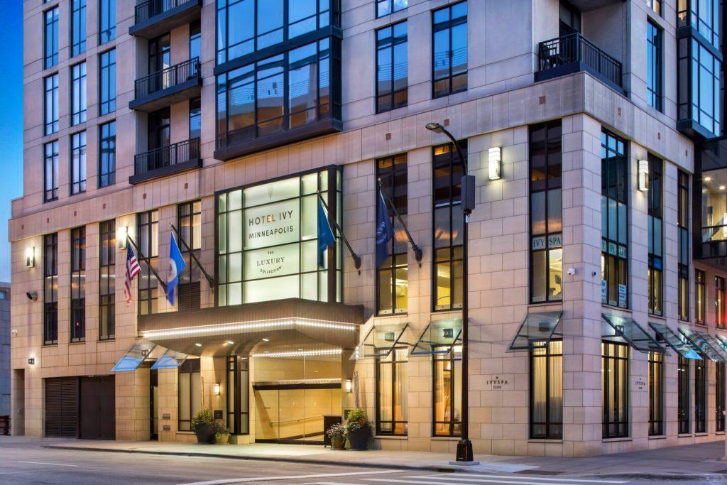 Hotel Ivy Entrance